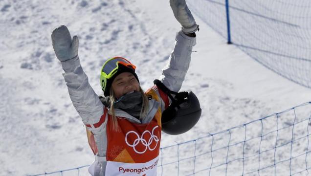 Chloe Kim exhibe sus 17 años de oro en el 'halfpipe' - mundodeportivo.com