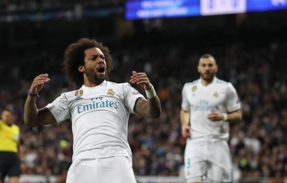 Marcelo rubricó su gran juego con el 3-1 del Madrid. El País.com.
