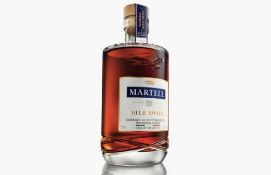 Martell Blue Swift. - [Image use with permission from Pernod Ricard]