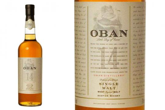 Oban 14. - [Image use with permission from Diageo]