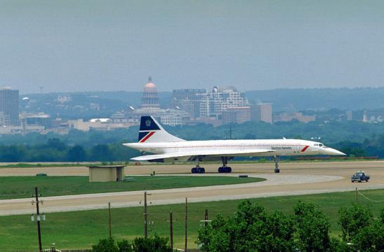 A British Airways Concorde supersonic transport aircraft (Image credit – Charles W. Diggs Jr, Wikimedia Commons)