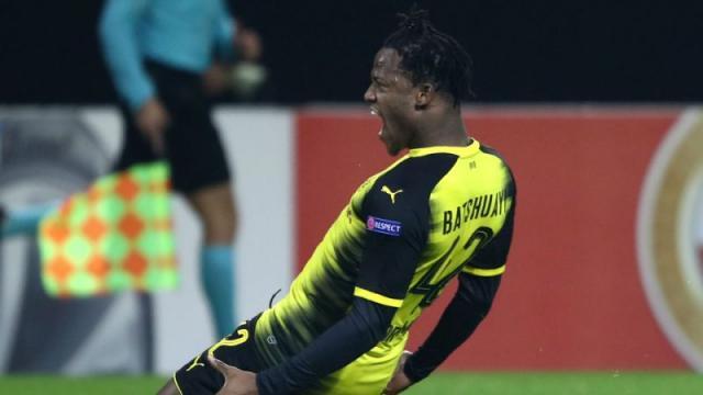 Batshuayi ha sido un avión en pocos partidos en el Dortmund. Yahoo Sports.com.