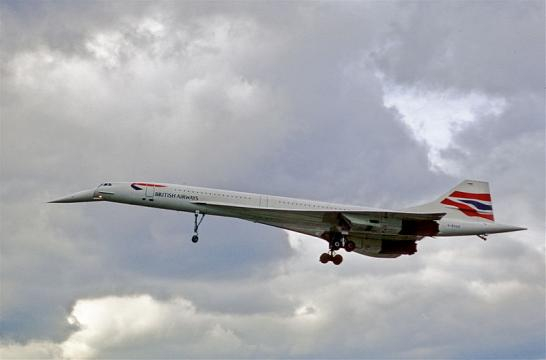 Concorde arriving from JFK (Image credit – Aero Icarus, Wikimedia Commons)