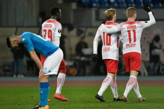 El Leipzig con el 3-1 tiene ya dos pies en los 8vos de final de Europa League. worldsoccertalk.com.