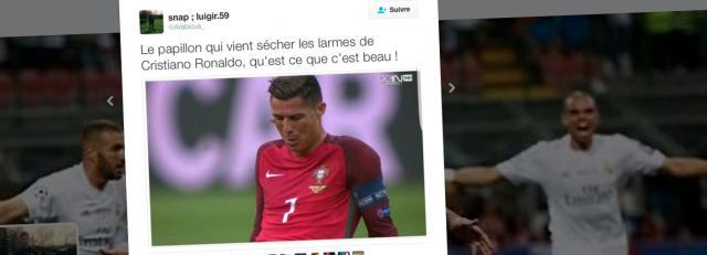 Le papillon consolateur de Ronaldo est déjà une star - Le Temps - letemps.ch