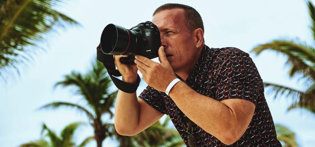Scott Schuman dejó las pasarelas para firmar campaña de hotel en la Riviera Maya, México (Agencia Expressa)
