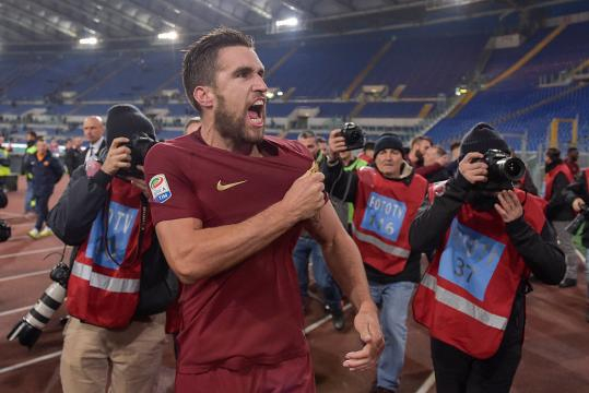 Kevin Strootman sta disputando una stagione importante con la maglia della Roma