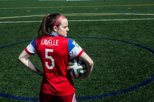 Washington Spirit select Rose Lavelle in the NWSL Dispersal Draft (Image Credit - Cincinnati Magazine)