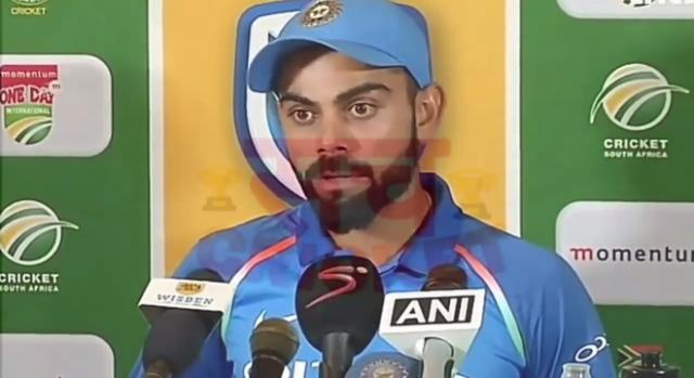 Virat Kohli was the star of the win. Photo - Image credit Sach Tv -Youtube.com