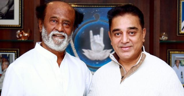 Actor Kamal Haasan meets Tamil superstar Rajinikanth in Chennai ... - Image credit scroll.in -Toutube.com