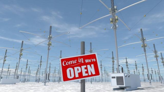 Una de las estaciones HAARP que hay por el mundo. (recuperandoelcielo.es)