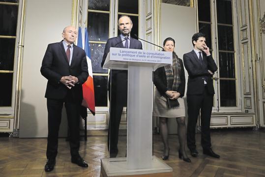 Les chantiers qui attendent le gouvernement en ce début 2018 - lesechos.fr