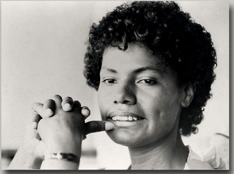 María Elena Moyano, dirigente vecinal asesinada por Sendero Luminoso. Foto: Wikipedia.