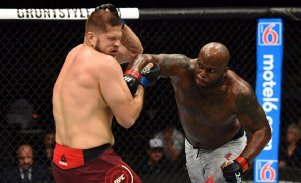 Lewis quiere pelear vs Ngannou en su próxima pelea. The Body Lock.com.