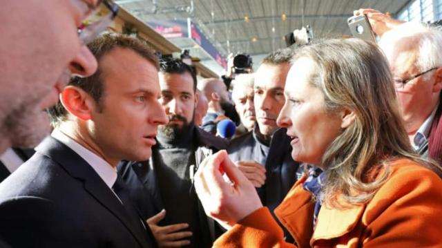 Macron pris à parti sur l'accord Mercosur