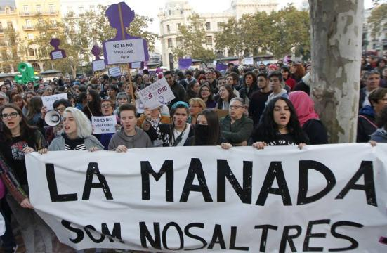 """Caso La Manada: """"Basta de poner el foco sobre la víctima en lugar ... - elpais.com"""