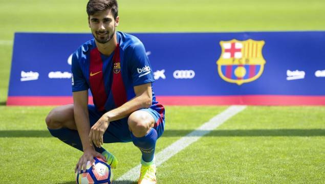Presentación André Gomes FC Barcelona en directo - mundodeportivo.com