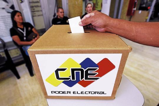 CNE acata la resolución de la ANC de adelantar las presidenciales
