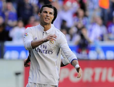 Cristiano Ronaldo: Real Madrid star flashed by Alaves supporters ... - thesun.co.uk