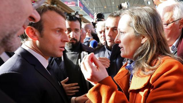 Journée marathon d'Emmanuel Macron au Salon de l'agriculture ... - rfi.fr