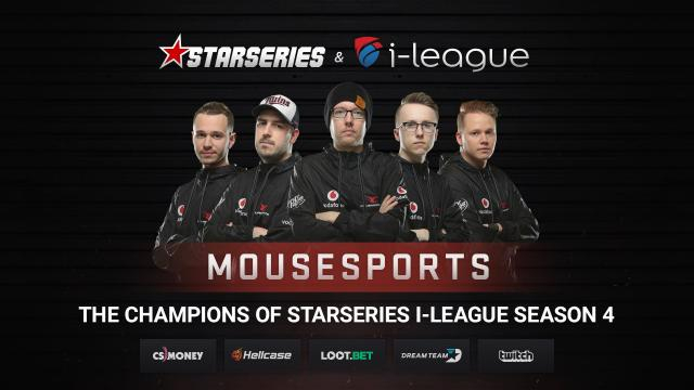 Mousesports are the #StarSeries4 Champions! | https://twitter.com/cssltv