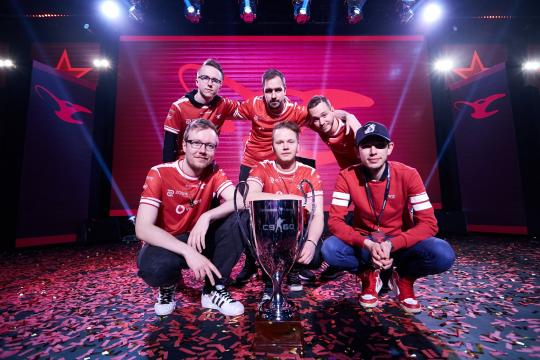 Mousesports' Second Trophy With This Roster | (Image Credit: Cssltv/Twitter)