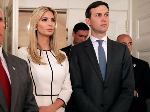 Invanka Trump und Jared Kushner - das Glamour-Paar wollte das