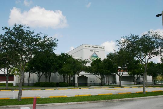 Marjory Stoneman Douglas High School in Parkland, Florida (Image credit – Formulanone, Wikimedia Commons)