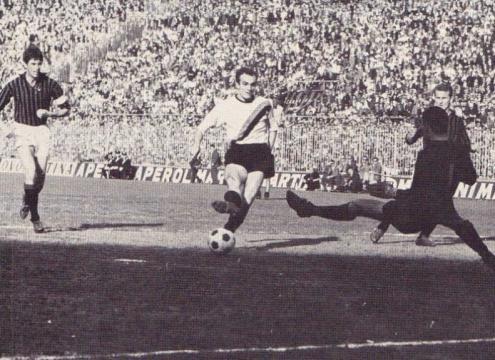 Sandro Mazzola in gol, Inter-Milan 5-2 del 28 marzo 1965