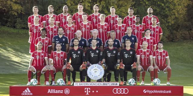 Der Kader des FC Bayern München 2018