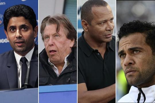 Neymar au PSG : les 6 hommes derrière