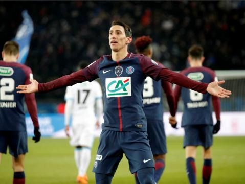PSG-OM : Di Maria redonne le sourire aux Parisiens - SFR Sport - sfr.fr