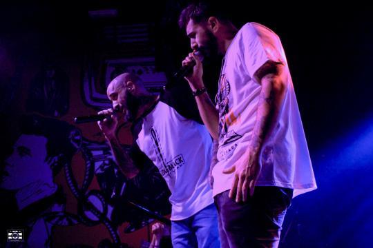 """Rayden y Mediyama cantando """"No hago rap"""""""