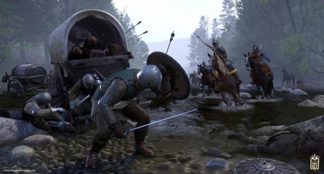 'Kingdom Come: Deliverance' - scene battaglie.