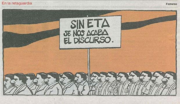Aquí denunciaba Ferreres la obsesiva campaña de Aznar después del 11-M sosteniendo que fue ETA y no Al Qaeda.