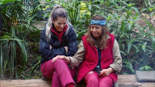Dschungelkönigin und Dschungelprinzessin? Jenny Frankhauser und Tina York - Foto: MG RTL D