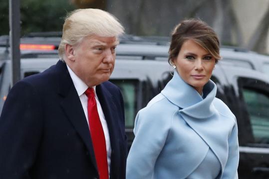 Melania Trump Wears Ralph Lauren for Inauguration Day [PHOTOS ... - footwearnews.com
