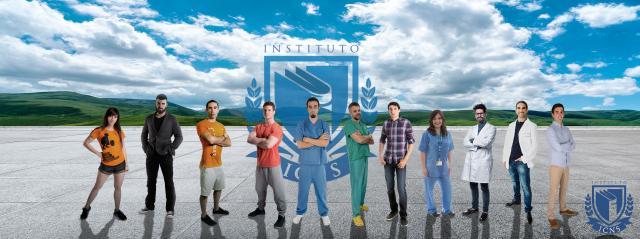 Especialistas del Instituto de Formación Avanzada en Ciencias de Nutrición y Salud. Víctor es el segundo desde la derecha. Foto de ICNS