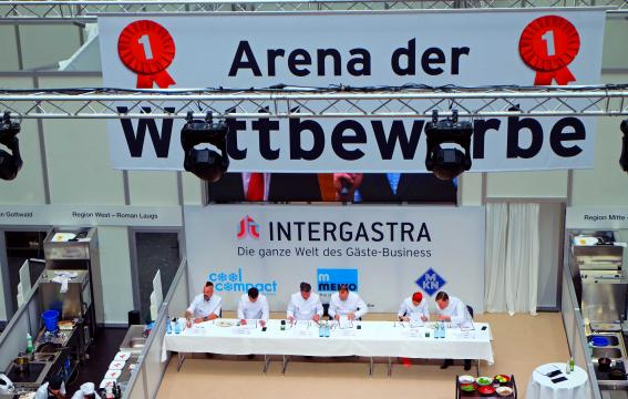 Intergastra 2018 Arena. Wettbewerb der Köche Photography Karlo Grados