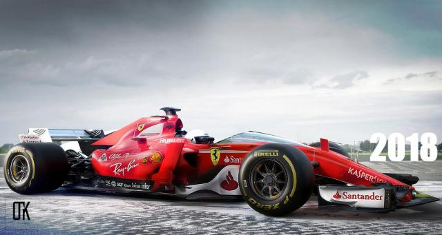 2018 Ferrari F1 Car Concept Livery - thisisf1.com