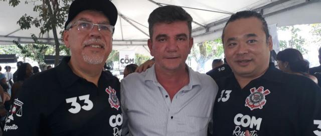 Andrés Sanchez foi eleito novo presidente do Corinthians