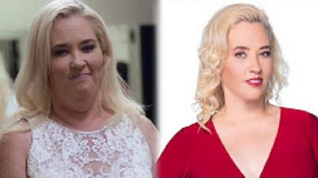 Mama June stunning weight loss. - [WETV / YouTube screencap]