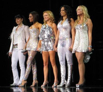 Spice Girls in Toronto, Ontario (Image credit – Ezekiel, Wikimedia Commons)