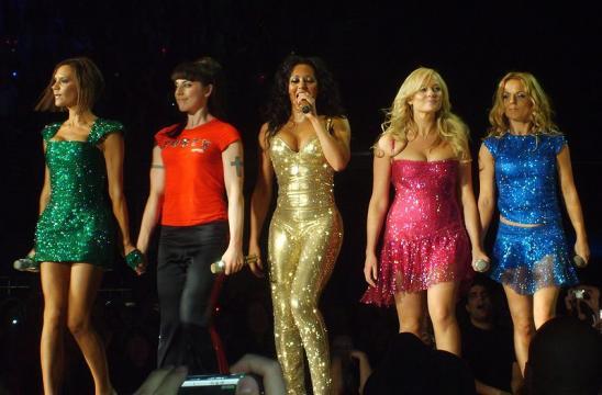 The Spice Girls (Image credit – Kura.kun, Wikimedia Commons)