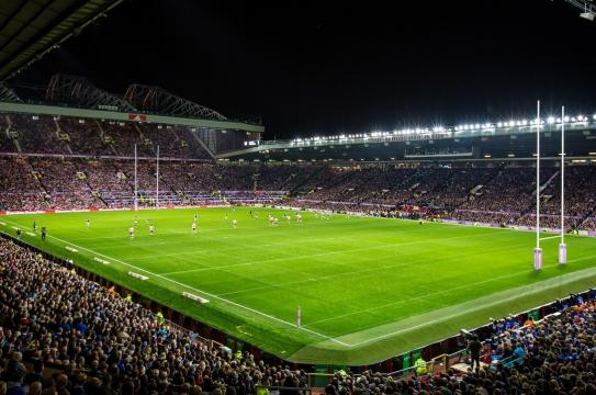 Widnes pulled off the most surprising result of the Round One fixtures, hammering the Catalans Dragons. Image Source - rugby-league.com
