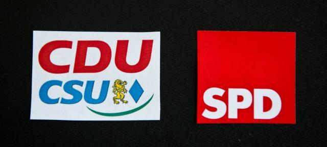CDU/CSU und SPD einigen sich auf Zusammenarbeit.