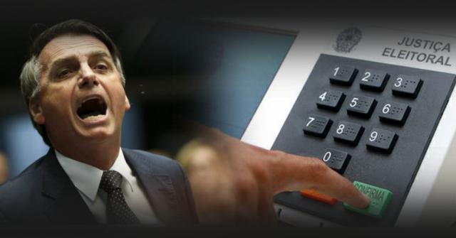 Deputado Jair Bolsonaro cobra do TSE o voto impresso para as eleições de 2018.