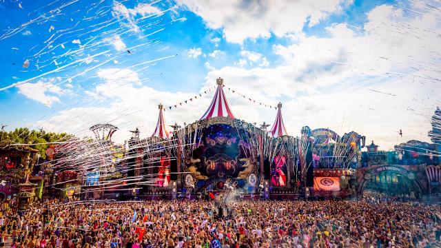 Festival de música electrónica Tomorrowland (Passport Experience)