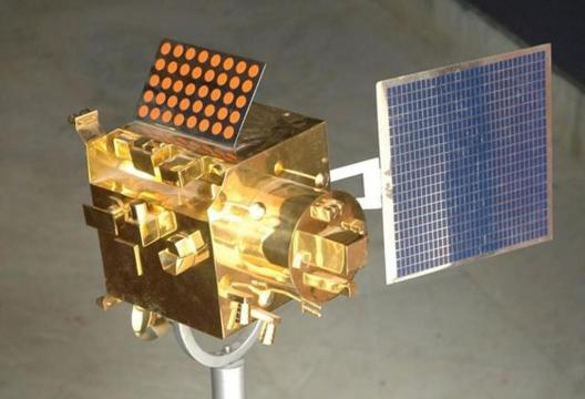 image source-mgrtv.com-the Chandrayaan -1 lunar probe found by NASA in 2017