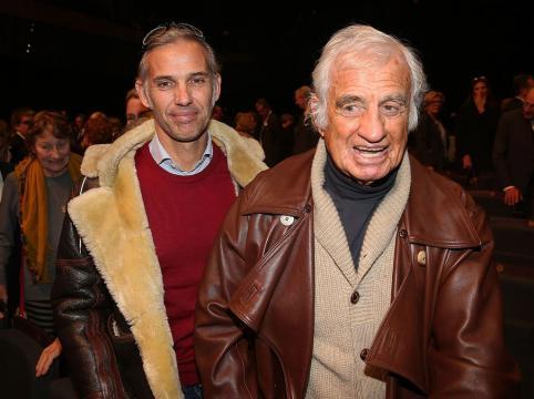 Jean-Paul Belmondo et son fils Paul au gala pour la recherche sur ... - telestar.fr